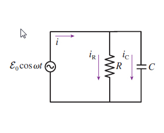 solved  the figure  figure 1  shows a parallel rc circuit