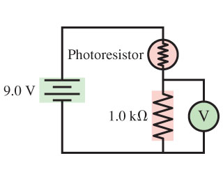 Solved: A Photoresistor, Whose Resistance Decreases With L ...